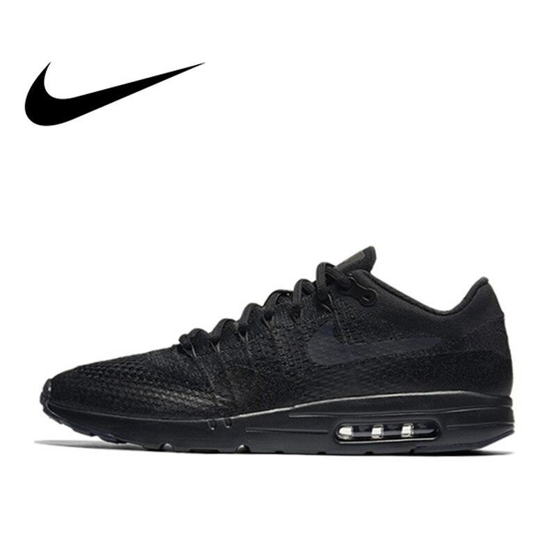 Original authentique Nike Air Max hommes chaussures de course respirant confortable chaussures de sport de plein Air porter de bonne qualité 856958-001