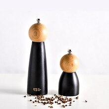 Современный стиль деревянный керамический ядро специй гайка шлифовальная машина ручная шлифовальная бутылка Homde украшение кухонный инструмент для соли перец