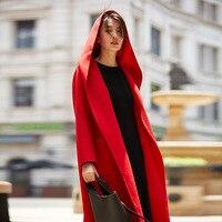 Шерстяное пальто женское кашемировое зимнее женское длинное роскошное пальто женская зимняя 2018 женская смесь пальто AA4312