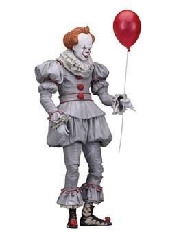Movie Stephen King's It Action Figure – Pennywise Joker Clown | 18cm 7inch