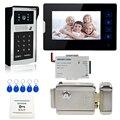 Chuangkesafe Popular WiFi Wireless Video Door Phone intercom Doorbell Android IOS Smart Home with lock