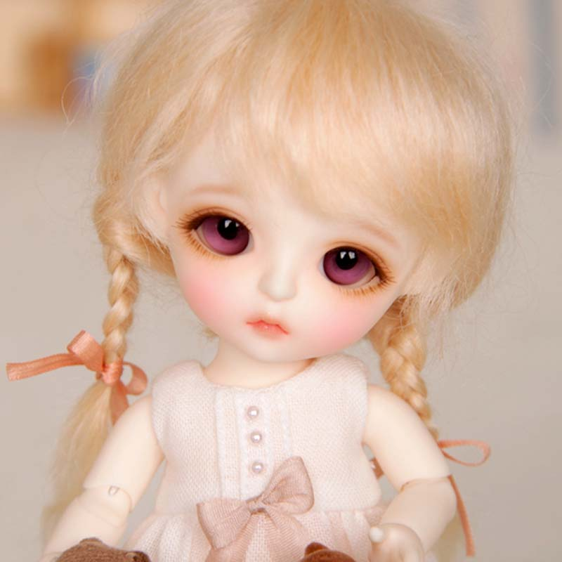 New Arrival 1/8 BJD Doll BJD/SD Fashion Cute Doll With Eyes For Baby Girl Gift