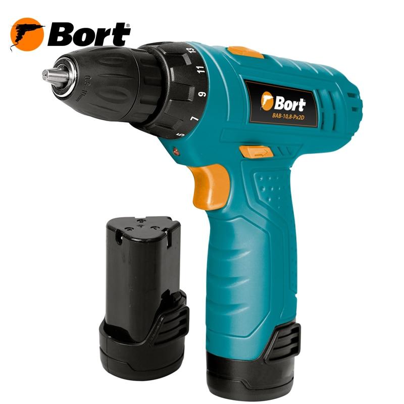 Cordless Drill/Driver Bort BAB-10,8-Px2D