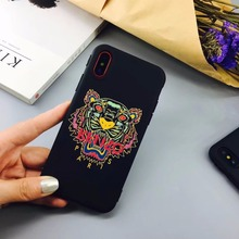 Lion eyes  Soft TPU Colorful Case For Apple iPhone X, 6, 6s, 7 8 Plus
