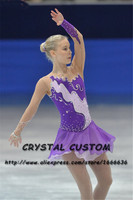 Crystal Custom Figure Skating Dresses Girls New Brand Ice Skating Dresses For Competition DR4544