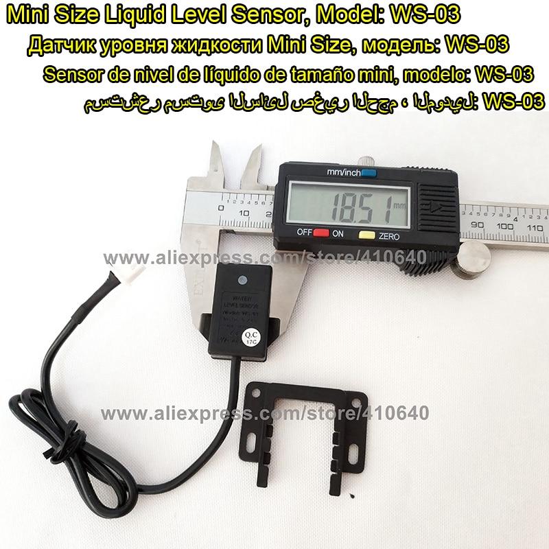 1 قطعه سنسور سطح آب مایع ارزان قیمت سنسور سطح آب 2 ولتاژ کار 5VDC / 12 / 24VDC خاموش تماس از کارخانه