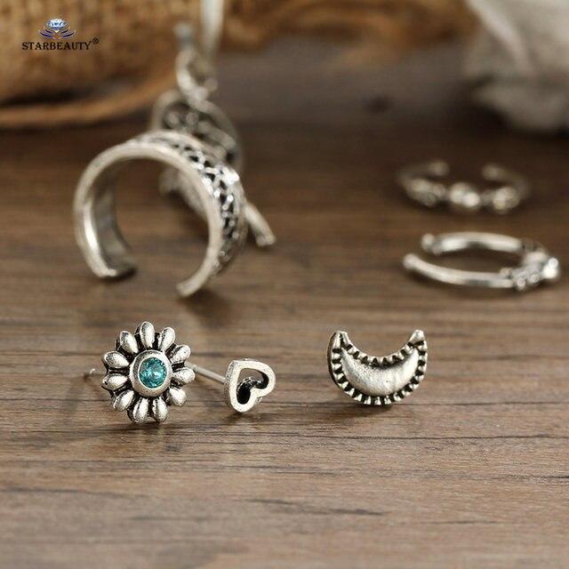 Online Shop Starbeauty 40pcslot Dream Catcher Moon Sun Crystal Unique Dream Catcher Nose Ring