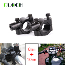 Motorcycle Side Mirror Accessories Handlebar Adaptor Holder Mount Bracket Clamp Rear View Scooter Accessory