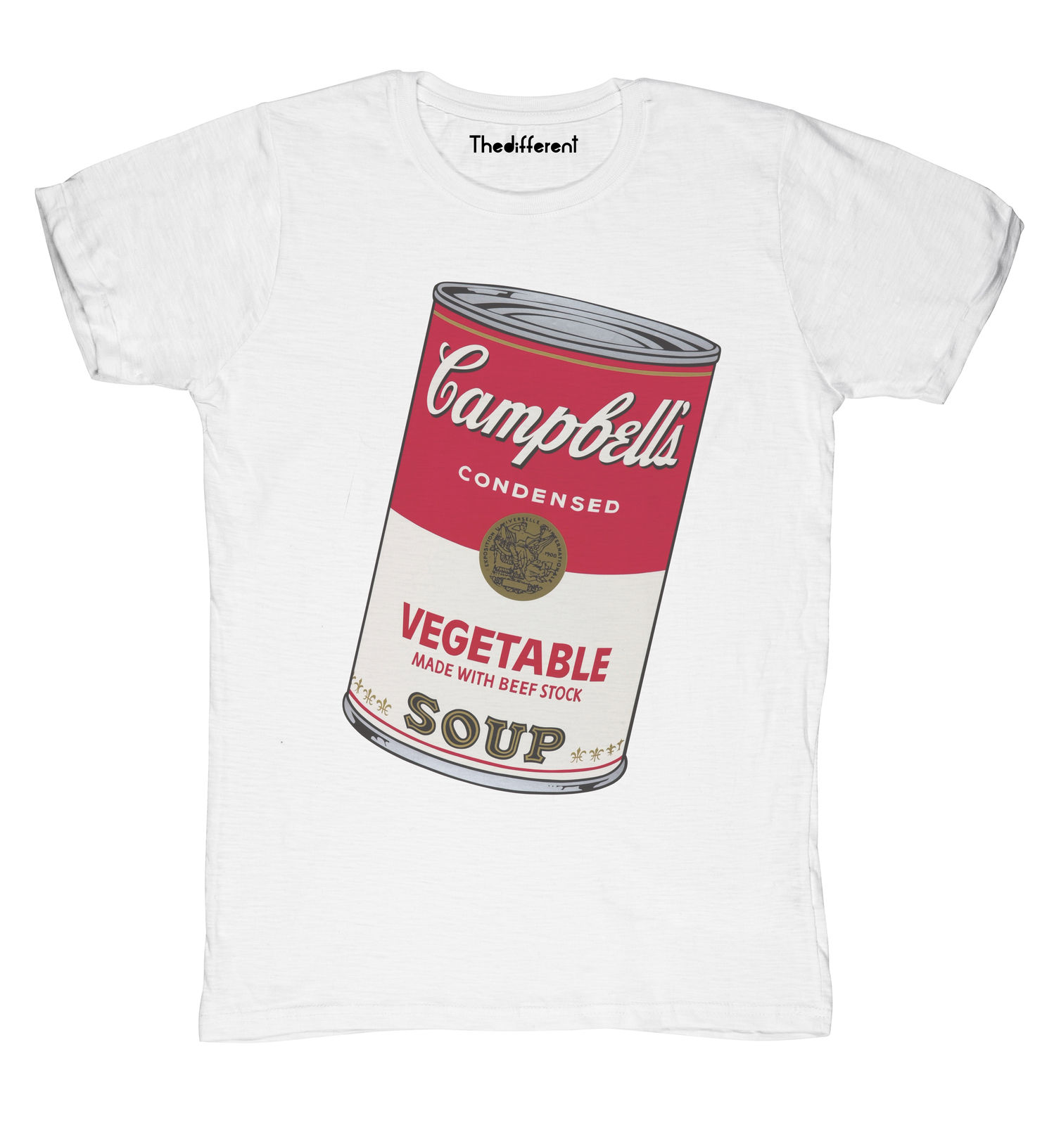 New T-Shirt Blaze Man Soup cans Soup Gift Idea image