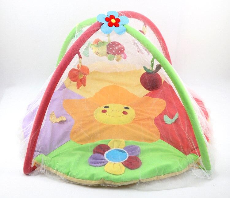 Baby Gym საქმიანობა Playmat Mosquito Net Newborn - ბავშვთა საქმიანობა და აქსესუარები - ფოტო 6