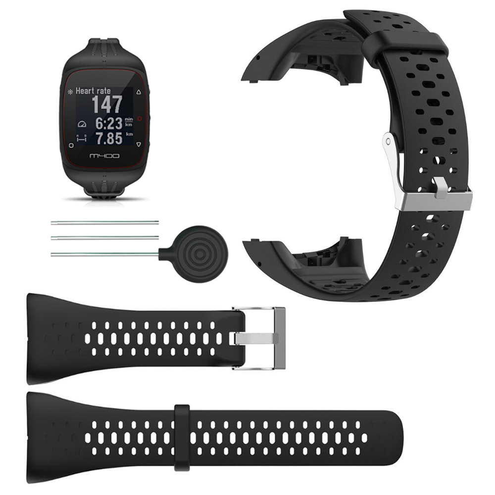 Wrist Band Strap for Polar M400 M430 Sports Smart Watch Soft Silicone Belt Replacement Bracelet Wristband Watchband Accessory