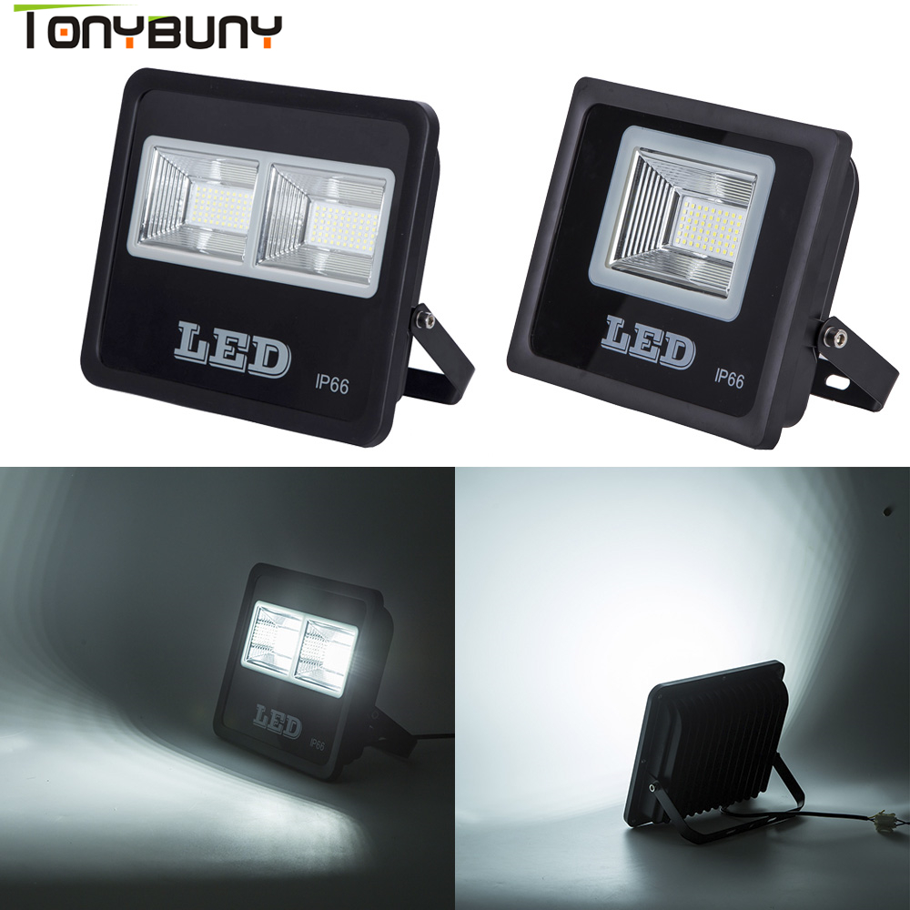 High Brightes Led Flood Light with 50W 100W 150W 250W Outdoor Spotlight floodlight 220v Waterproof Outdoor Lighting in Floodlights from Lights Lighting