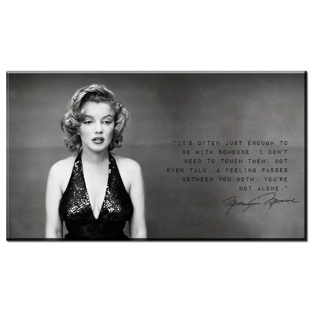ZZ1051 nero bianco moderna della tela di canapa di arte bella ...