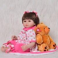 Fashion 50 cm Reborn Baby Doll Lovely 20 Newborn Dolls Unique Girls Toys For Cute Children Playmates Birthday Gifts