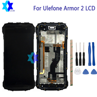 For Original Ulefone Armor 2 LCD Display Touch Screen Panel Digital Replacement Parts Assembly 5 0