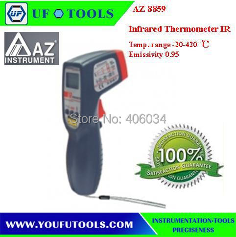 AZ8859 non-contact infrared thermometer AZ-8859 Digital infrared thermometer AZ 8859 Gun Type Infrared IR Thermometer  цены