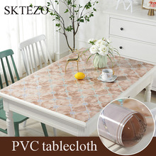 Luxury Nordic style party table decoration mat Imitation marble tablecloth plastic pad PVC waterproof Placemat Coffee mats