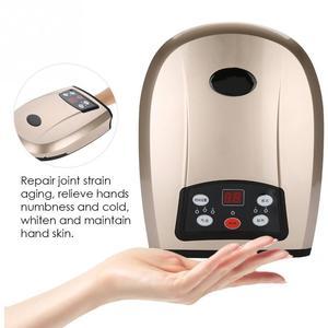 Image 2 - Elektrische Akupressur Palm Hand Massager mit Luftdruck Wärme Komprimieren SPA Finger Hand Durchblutung Schmerzen Relief Rehabilitation