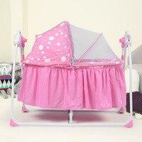 Новые поступления Многофункциональный Электрический Детские Колыбели детские кроватки Портативный складной новорожденных спальный Колы