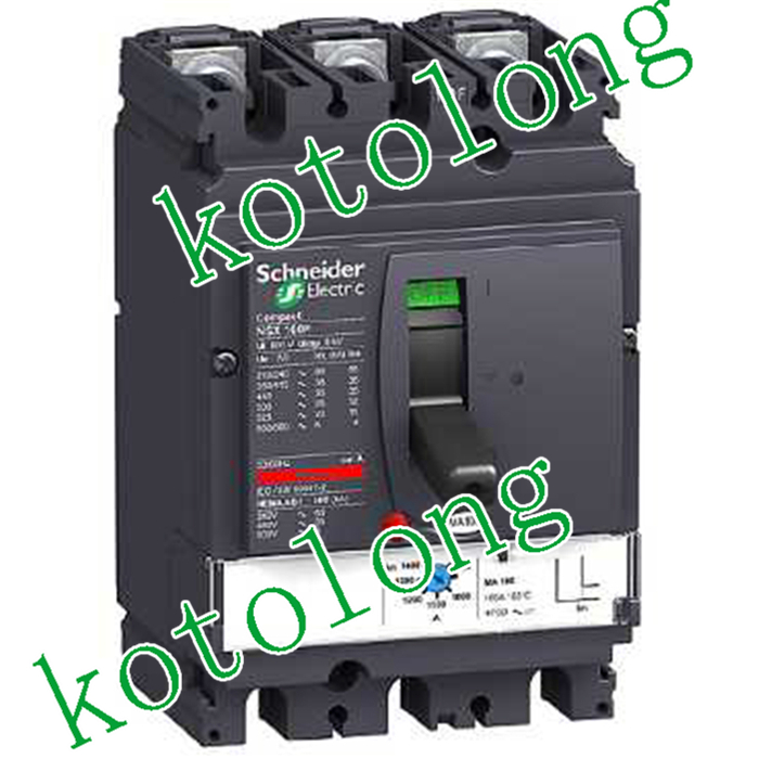 Compact NSX100H MA 3P LV429760 3P 100A LV429761 3P 50A LV429762 3P 25A compact