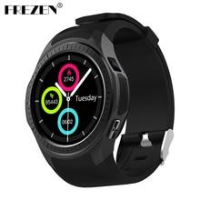 Фотография FREZEN L1 Smartwatch Phone 1.3 inch Bluetooth GPS Heart Rate Measurement Pedometer Sleep Monitor Sport Smart Watch