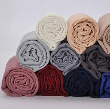 1 pcs Plain hijabs for women viscose solid color winter scarf muslim head wrap tassel scarves size 180CM*90CM