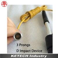 3 Pinos D Impacto Dispositivo Probe Para Dureza Testador|tester ph|probe thermostattester products -