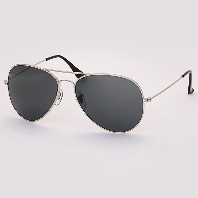 8e2c5b4c1 Boloban 3026 aviation TAC polarized sunglasses men women 60mm pilot glass  lens glasses mirror oculos de