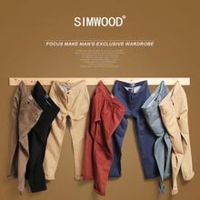Simwood Brand Autumn Winter New Fashion 2016 Slim Straight font b Men b font Casual font