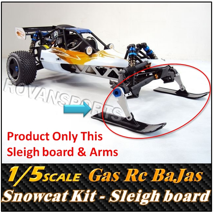 buy snowcat kit for rovan 1 5 scale gas powered engine remote control racing. Black Bedroom Furniture Sets. Home Design Ideas