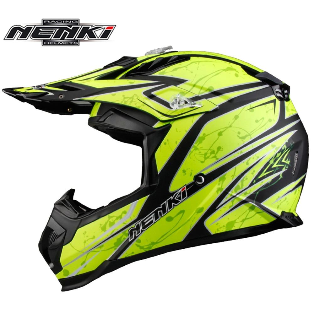 Motocross Helmet NENKI MX315 ATV Dirt Bike Off Road Rally Racing Capacete Casco Casque Kask Motorcycle Helmets EU Standard ECE