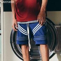 GANYANR Brand Running Shorts Men Basketball Gym Athletic Leggings Tennis Sports Volleyball Tennis Fitness Football Gym