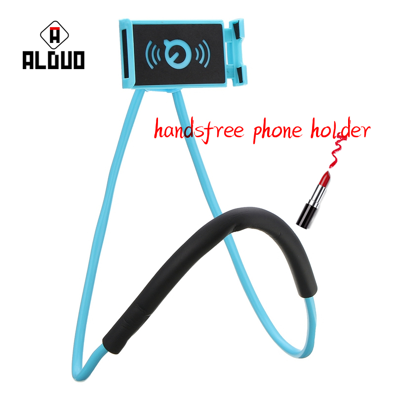 ALANGDUO Lazy Bracket Universal 360 Degree Rotation Flexible <font><b>Phone</b></font> Selfie <font><b>Holder</b></font> Snake-like <font><b>Neck</b></font> Bed Mount Anti-skid For iPhone8