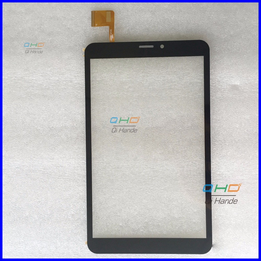 BLACK 8inch Original New Touch Screen Tablet for ZYD080-64V01 / V02 W801 Flatbed Touch Pad Sensor Replacement
