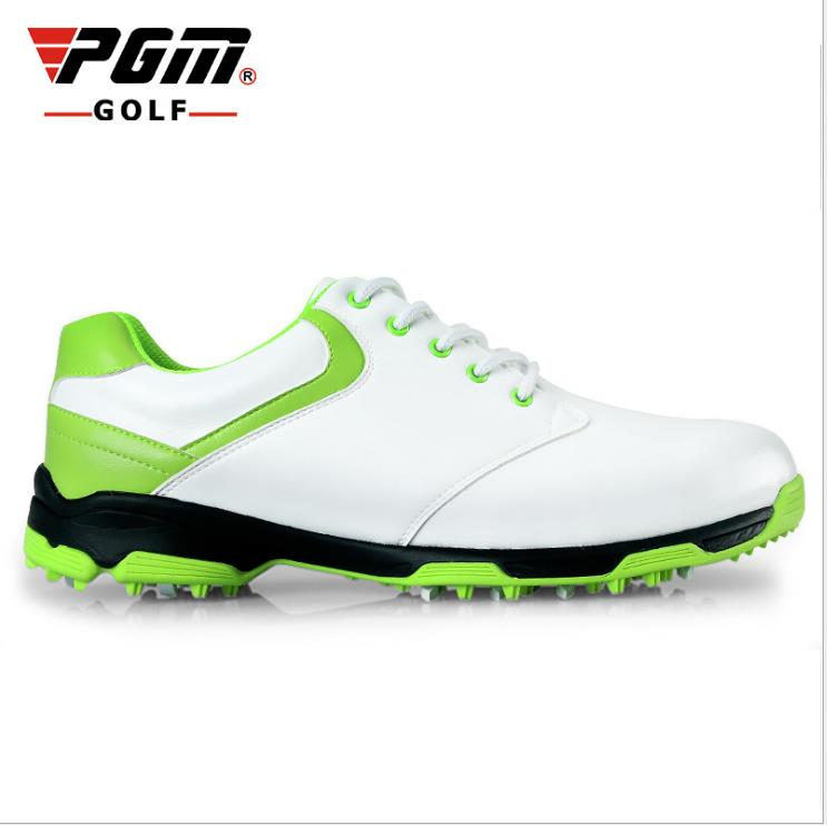 2015 men golf shoes NEW Counter genuine PGM top qualtiy Golf Shoes waterproof Mens no spikes handmade Golf shoes hot pgm golf bag golf clothes bag men