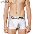 Healthy Breathable Mens Boxers Shorts Underwear Cuecas Modal Bodysuit Mesh Boxer Elastic Waistband Underpants 4XL 5XL 6XL K 5036