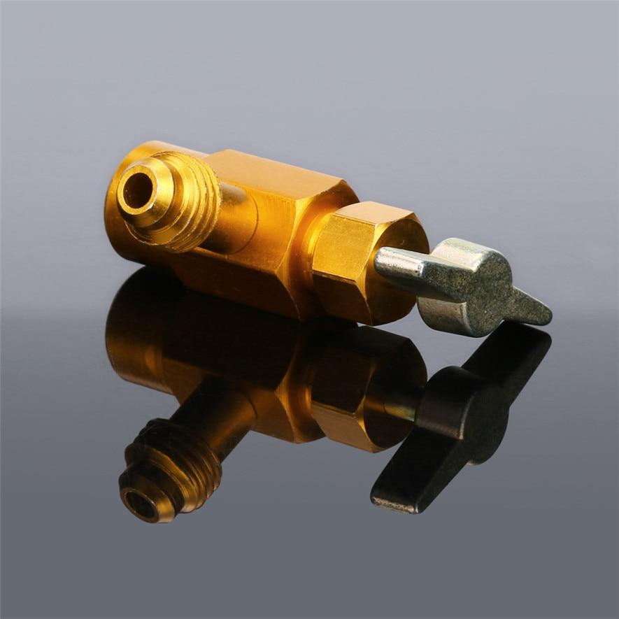 TENSKE 1Pc R-134 AC R-134a Refrigerant Tap Can Dispensing 1/2 ACME Thread Valve Hot *bottle opener cerveja*30