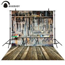 Allenjoy Photography backdrops Tools in dad's garage children background for photo studio allenjoy photography backdrops paper plane children newborn background for photo studio