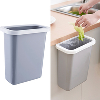 Multifuctional Hanging Waste Bin Trash Can Recycling Wastebasket for Home Cabinet Office Kitchen DC112