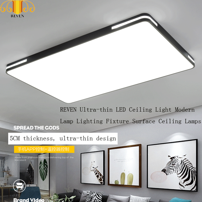 LED ceiling light modern lamp dashboard living room lighting equipment bedroom kitchen hall surface mounted ceiling lamp