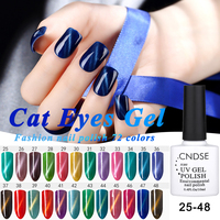 Magical 3D Cat Eyes UV Gel Polish 10ml Soak Off LED UV Gel Nail Polish Magnetic Gel Lacquer Long-Lasting 72 Colors For Choice