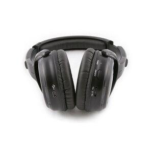 Image 4 - サイレントディスコ完全なシステムブラック led ワイヤレスヘッドフォン静音クラブパーティーバンドル (10 ヘッドフォン + 2 トランスミッタ)