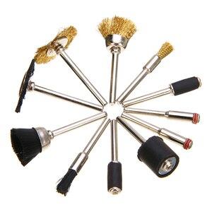 Image 2 - 150 pièces Kit multi outils rotatif pour artisanat tige meulage accessoires de polissage