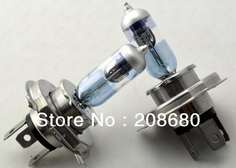 4pcs lot Night Breaker H4 up to 90 more light Xenon Car HeadLight Bulb Halogen Light