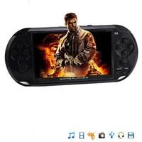 Nueva Llegada de 5.0 pulgadas Jugador Handheld del Juego de Soporte TV Hacia Fuera Puesto Con MP3 Cámara de Cine Multimedia Video Game Console