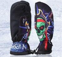 Boodun Waterproof Thermal Women Man Winter Ski Gloves Snowboard Snowmobile Motorcycle Cycling Outdoor Sports Gloves
