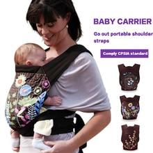 3-in-1 face-to-face rug carry katoenen draagzakken kinderactiviteit gear draagbare rugzakken schouderbanden