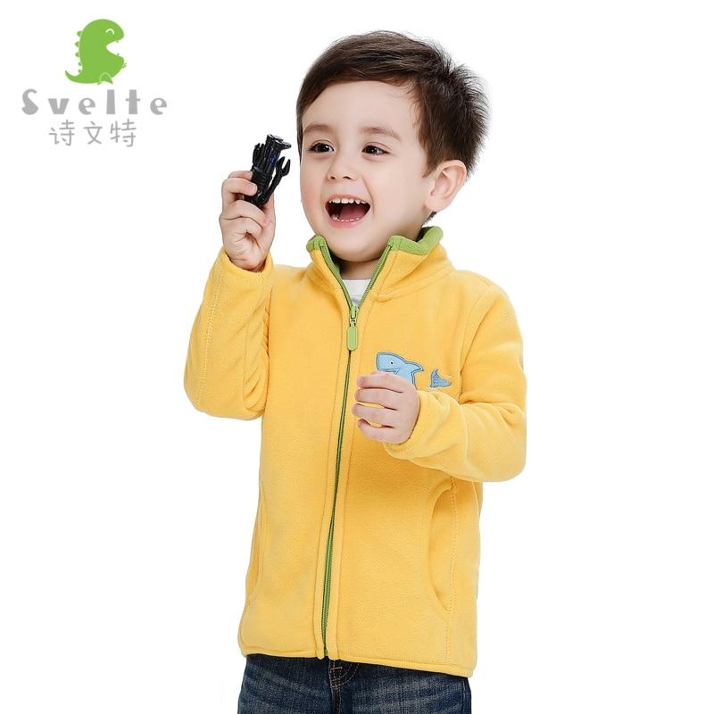 2016 Hot Cakes Autumn Winter Baby Girls Boys Clothing Plus Velvet Jacke Cartoon Kids Jackets Baby