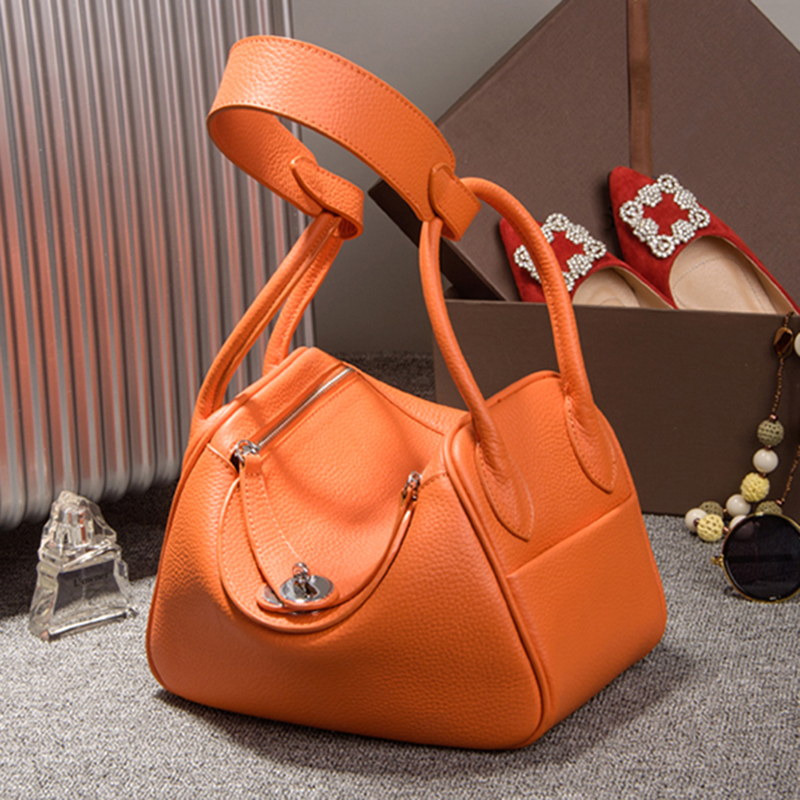 Women Bag Famous Brand Fashion Genuine Leather Crossboby Bag Design Ladies Shoulder Bag Female Handbags Girl Gift Bolsa Feminina bolsas feminina famous brand handbag genuine leather women bag fashion ladies crossboby bag design female shoulder bag girl gift
