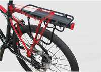 Cycling Bicycle Carrier Rear Luggage Rack Shelf Bracket Aluminum Bicycle Carrier 115 Lb Capacity Easy To Install Bike Rack